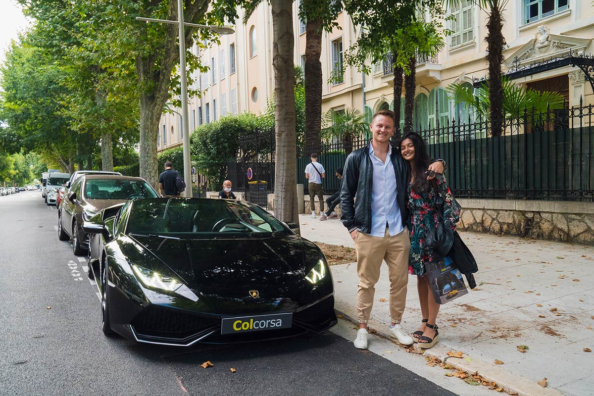 1-day supercar experience French Riviera