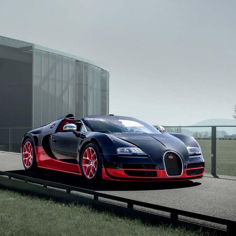 Bugatti Sport: Bugatti Veyron Grand Sport Vitesse