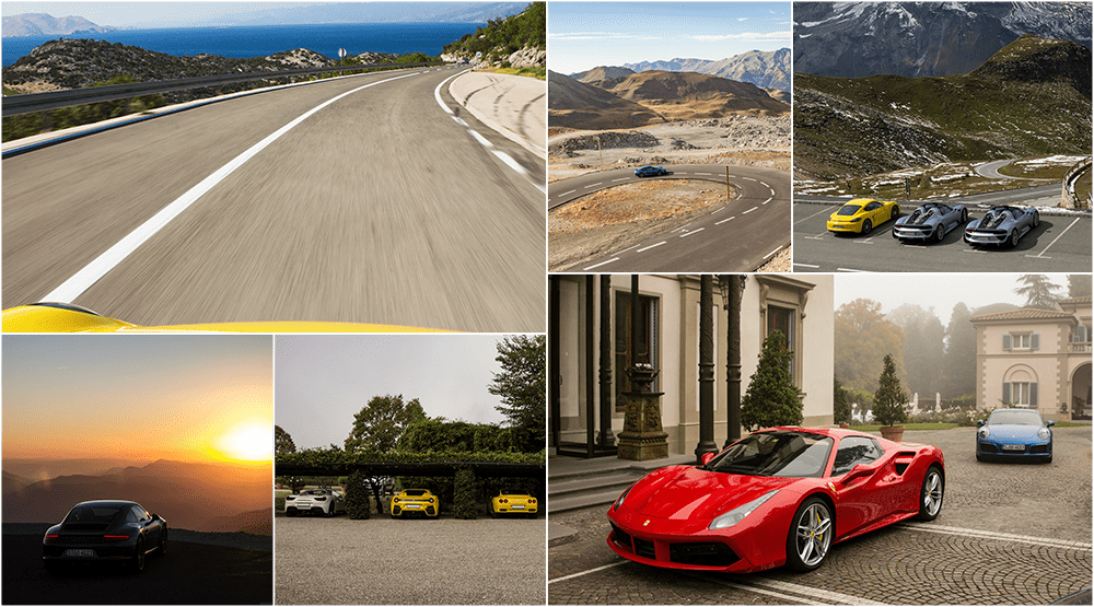 Supercar driving experience Europe - Supercar driving tour Europe