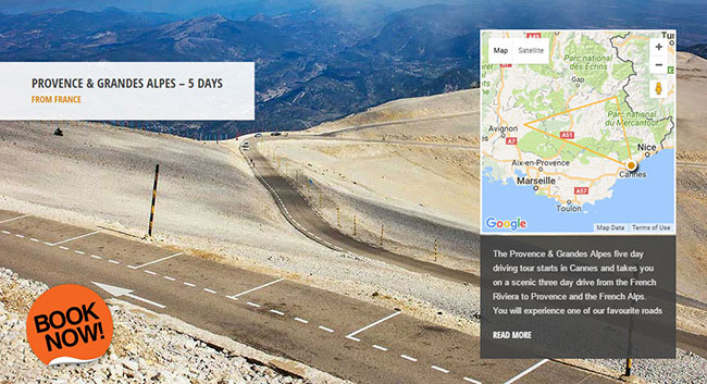 Mont Ventoux - Supercar Driving Tour