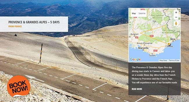 Mont Ventoux - Supercar Driving Tour