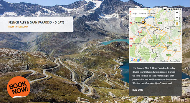 Drive Nivolet Pass - French Alps & Gran Paradiso driving tour