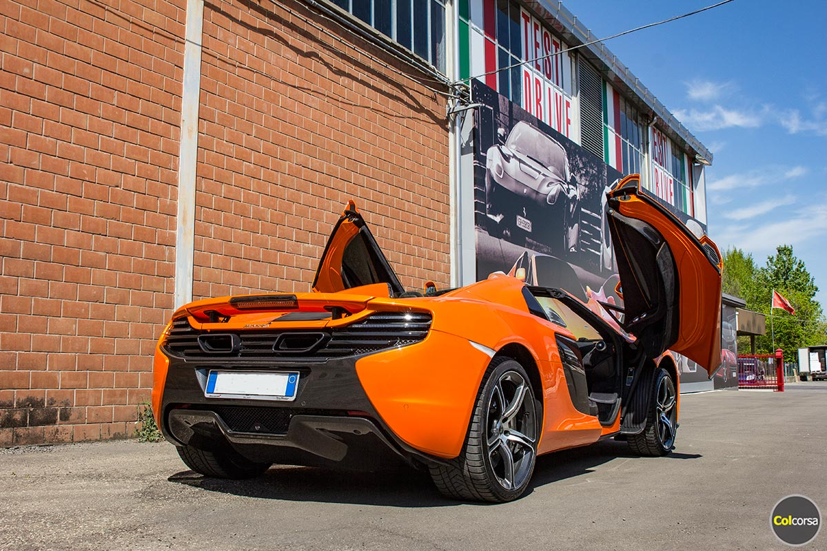 Rent McLaren 650S Spider - Colcorsa Supercar Hire in Europe