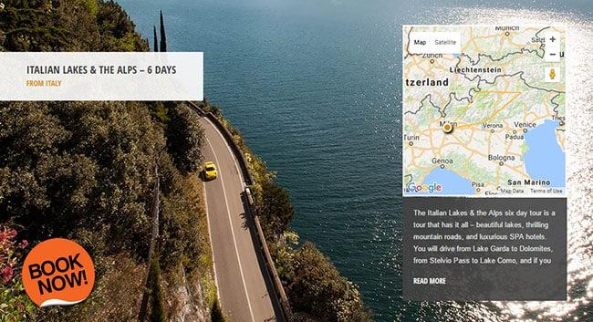 Drive Stelvio Pass - Italian Lakes & the Alps Supercar Tour