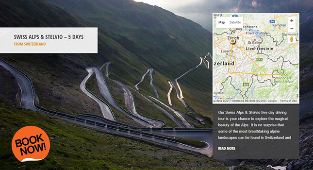 Drive Furka Pass Supercar Tour