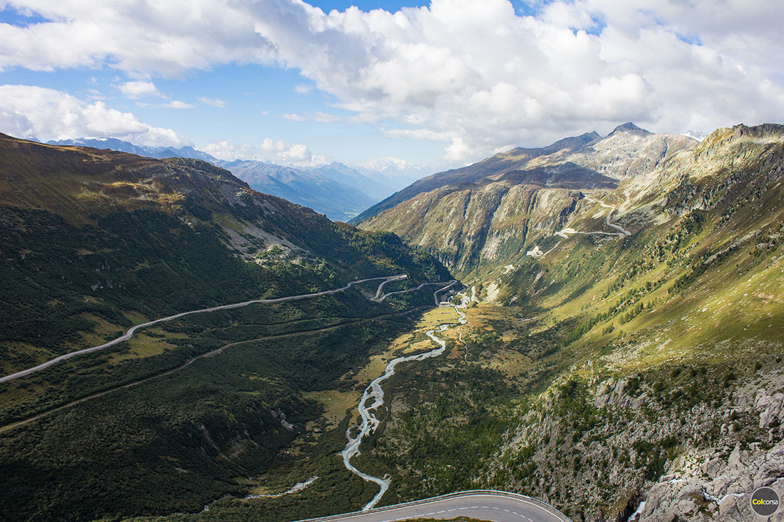 Furka Pass - Swiss Alps, Switzerland