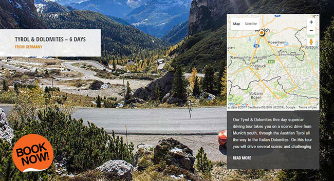 Drive Grossglockner High Alpine Road Supercar Tour