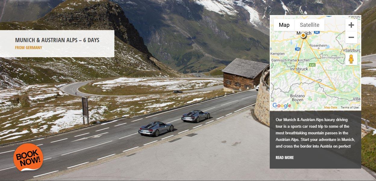 Grossglockner High Alpine Road - Supercar Tour