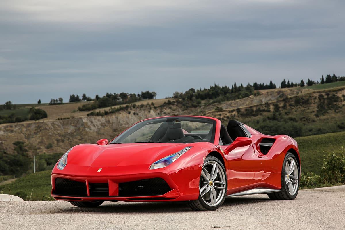 Ferrari 488 Spider - Ferrari Rental Tuscany