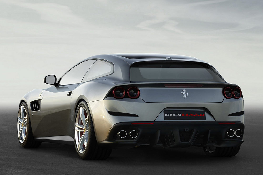 Ferrari GTC4 Lusso - Supercar Hire Europe