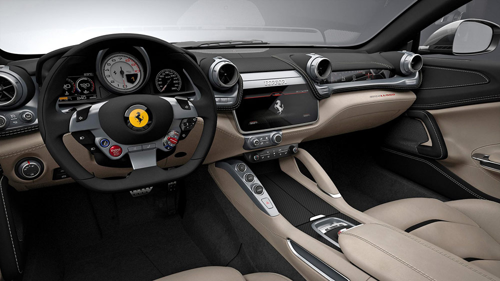 Ferrari GTC4Lusso - Supercar Hire Europe
