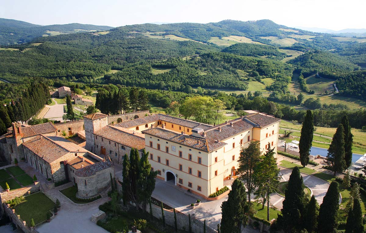 Hotel Castello di Casole - Tuscany, Italy