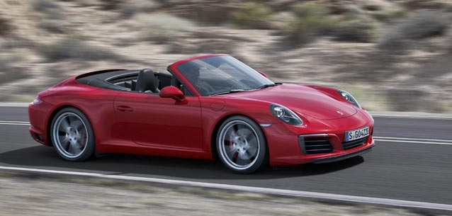 Porsche 911 Carrera Convertible