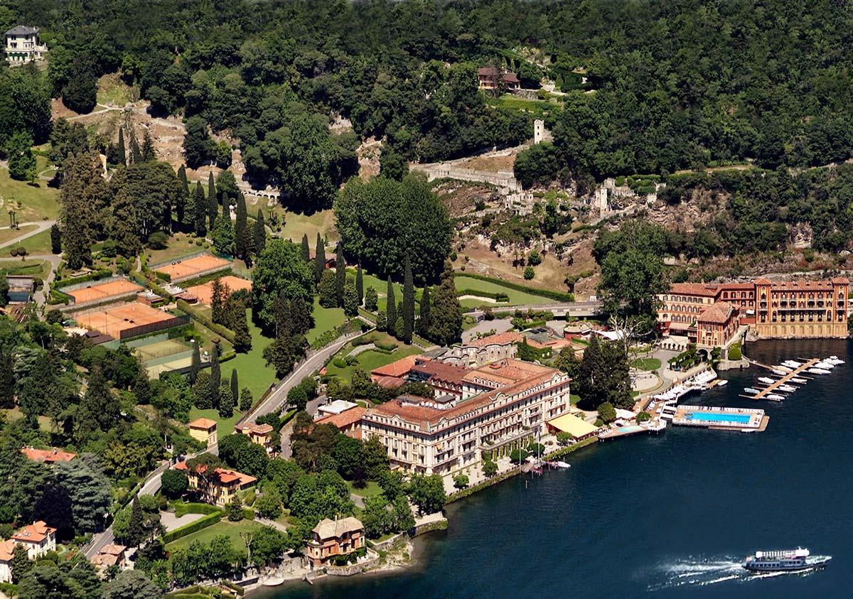 Villa d'Este Lake Como - Luxury supercar driving holiday in Italy