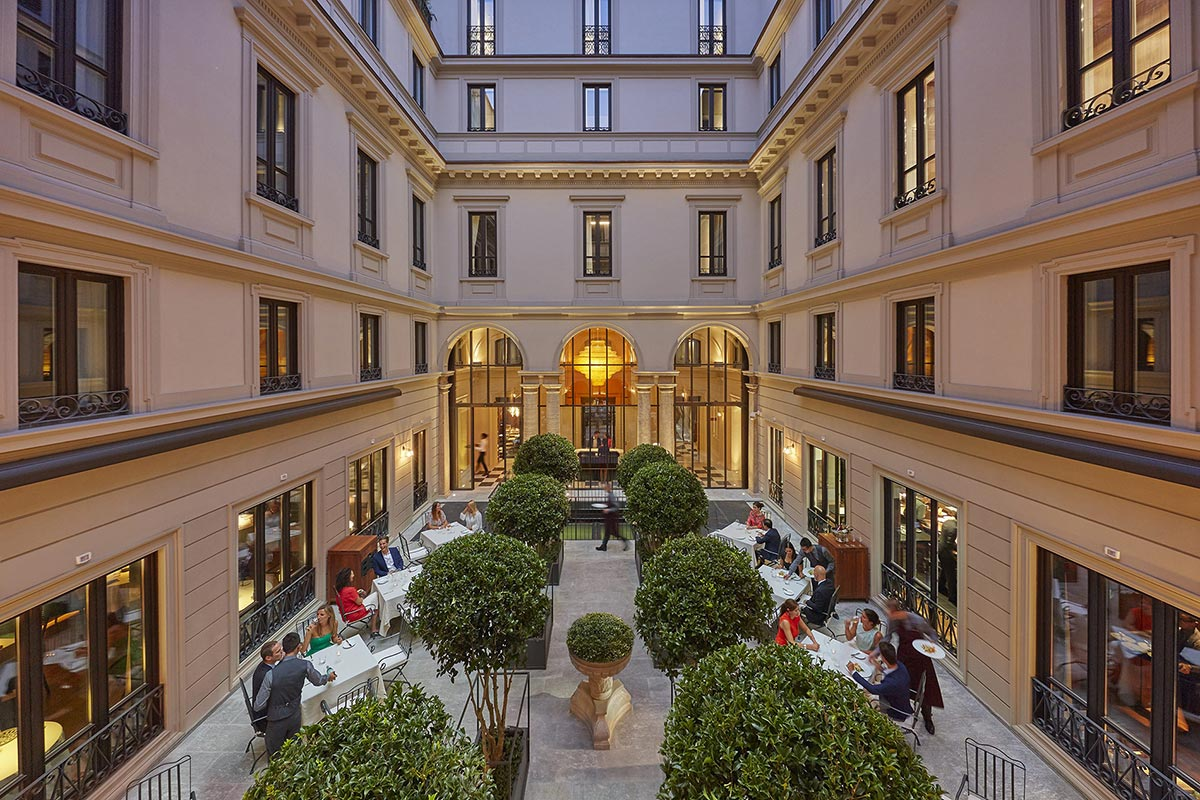 Mandarin Oriental Milan - Luxury supercar driving holiday in Italy