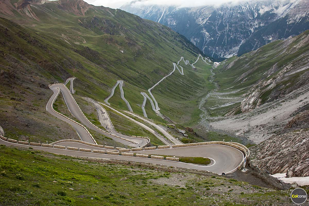Stelvio Pass - the world's greatest driving road - Luxury supercar driving holiday in Italy