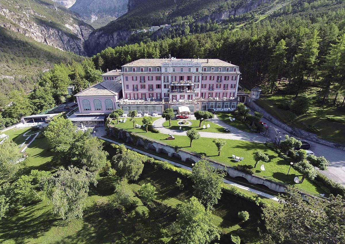 Hotel Bagni Nuovi di Bormio- Luxury supercar driving holiday in Italy