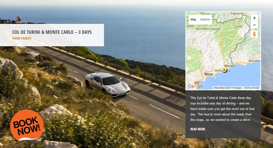 Supercar Hire Monaco - Monaco Grand Prix Driving Experience Package