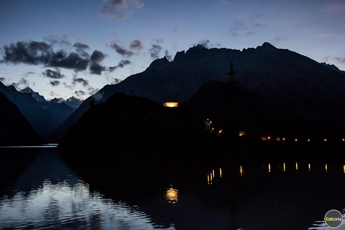 Grimsel Hospiz - Grimselsee at night