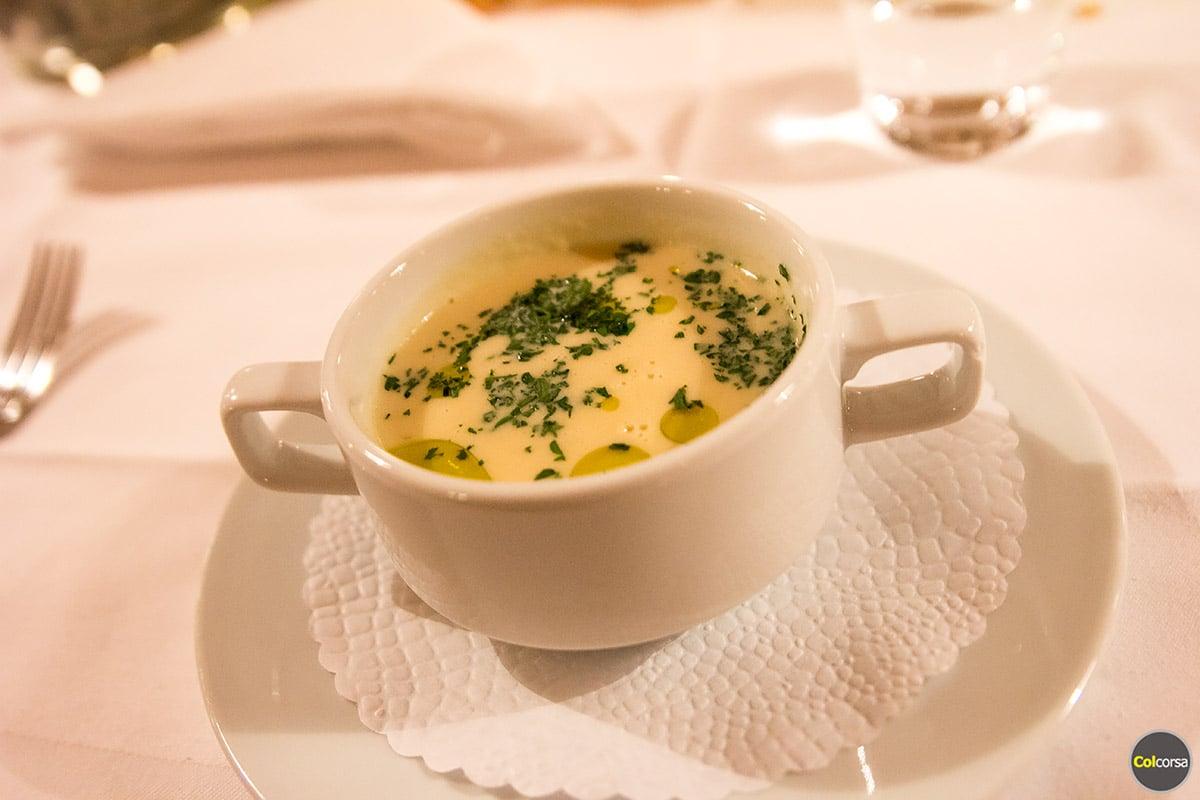 Hotel Grimsel Hospiz - restaurant menu