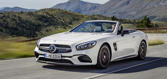 Mercedes-AMG SL63 Convertible Roadster