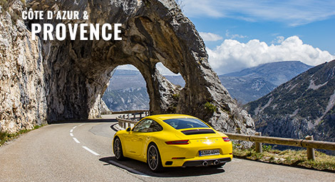 Côte d'Azur & Provence - Corporate Supercar Driving Experience