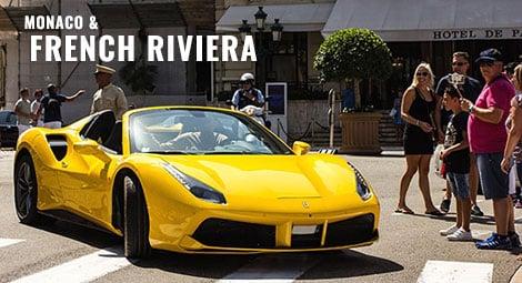 Monaco & French Riviera Corporate Supercar Experience