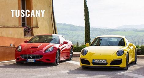 Tuscany Italy - Ferrari Supercar Incentive Tour
