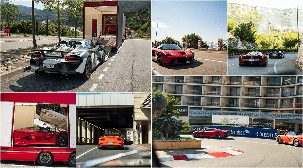 Hypercar / supercar bespoke driving group tours in Europe - Monaco