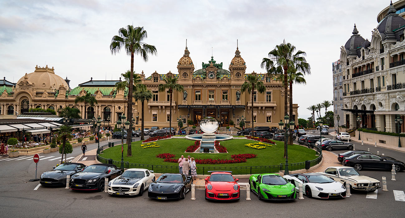 Monaco Supercar Tours - Guided group corporate incentive driving events