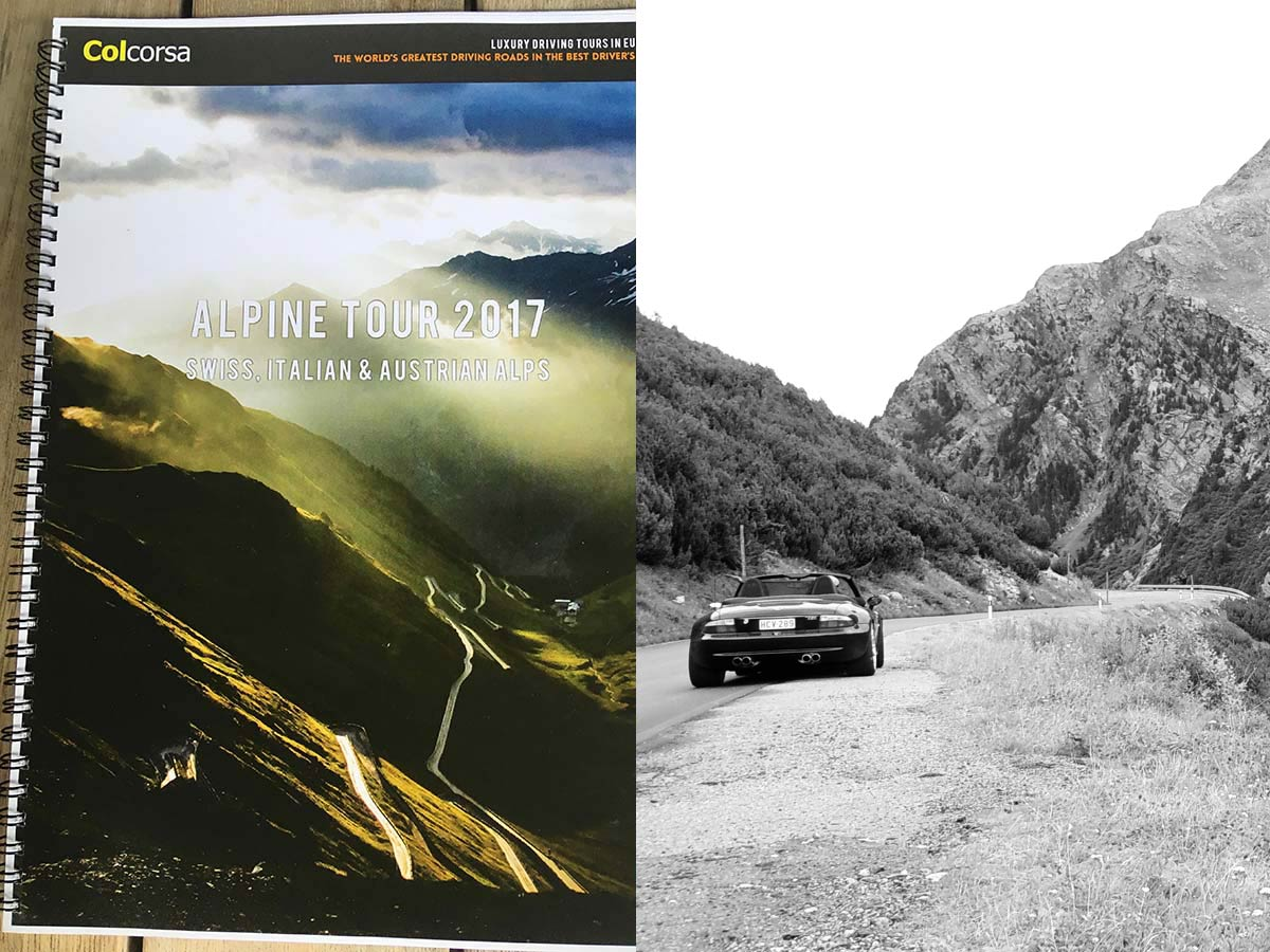 Alpine Tour 2017 - BMW M Roadster
