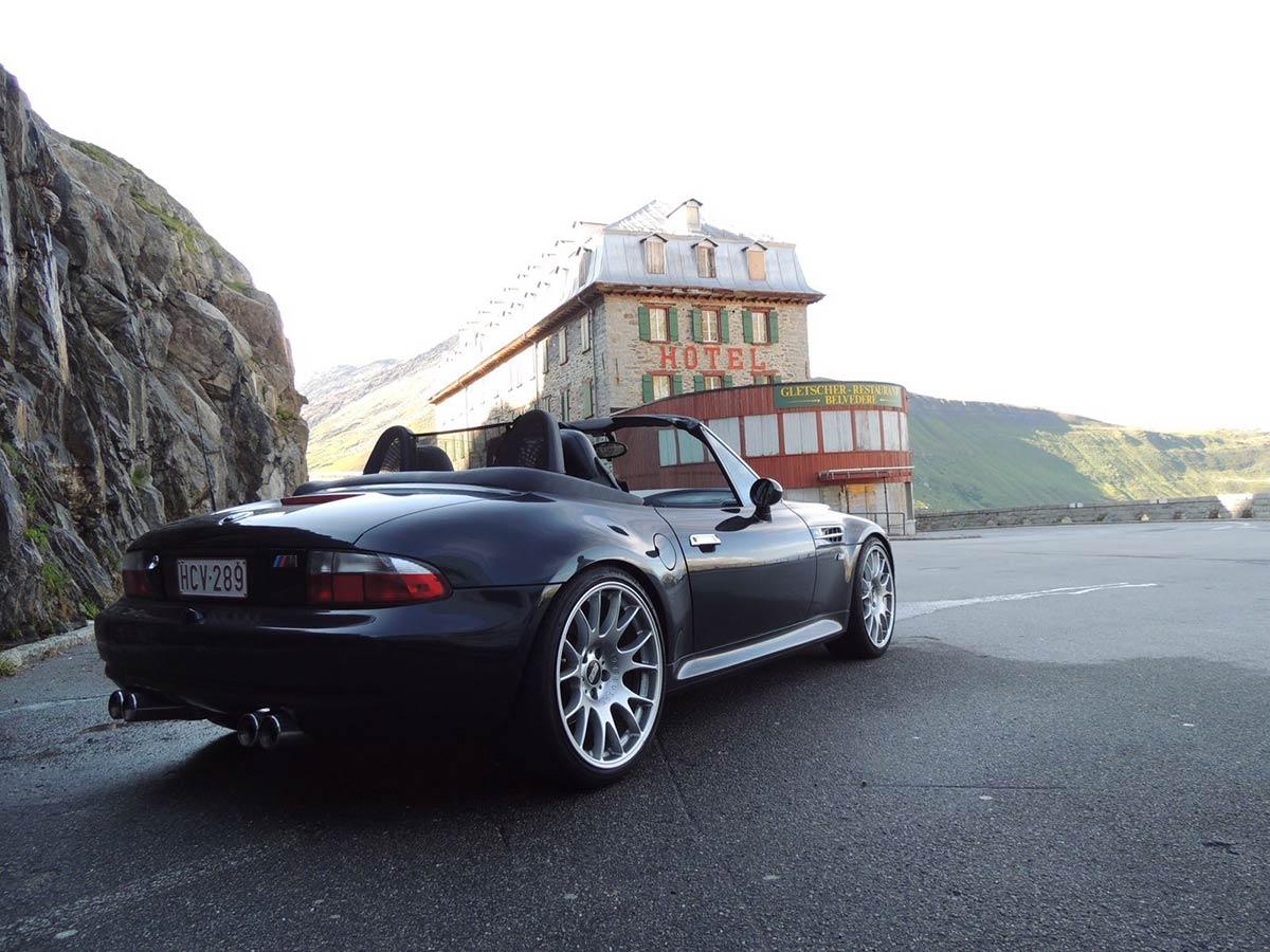 BMW M Roadster - Furka Pass