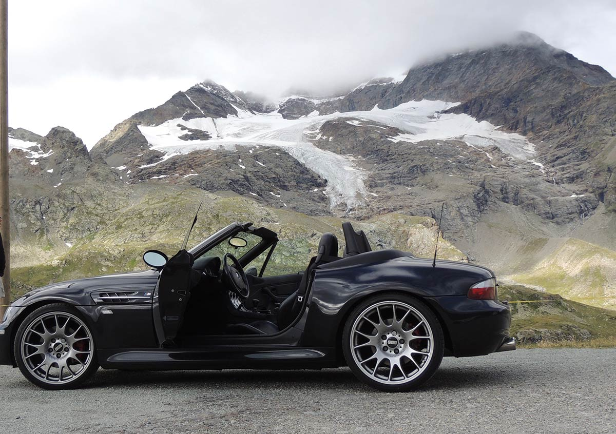 BMW M Roadster - Glacier