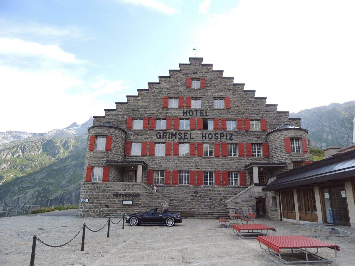 BMW M Roadster - Hotel Grimsel Hospiz