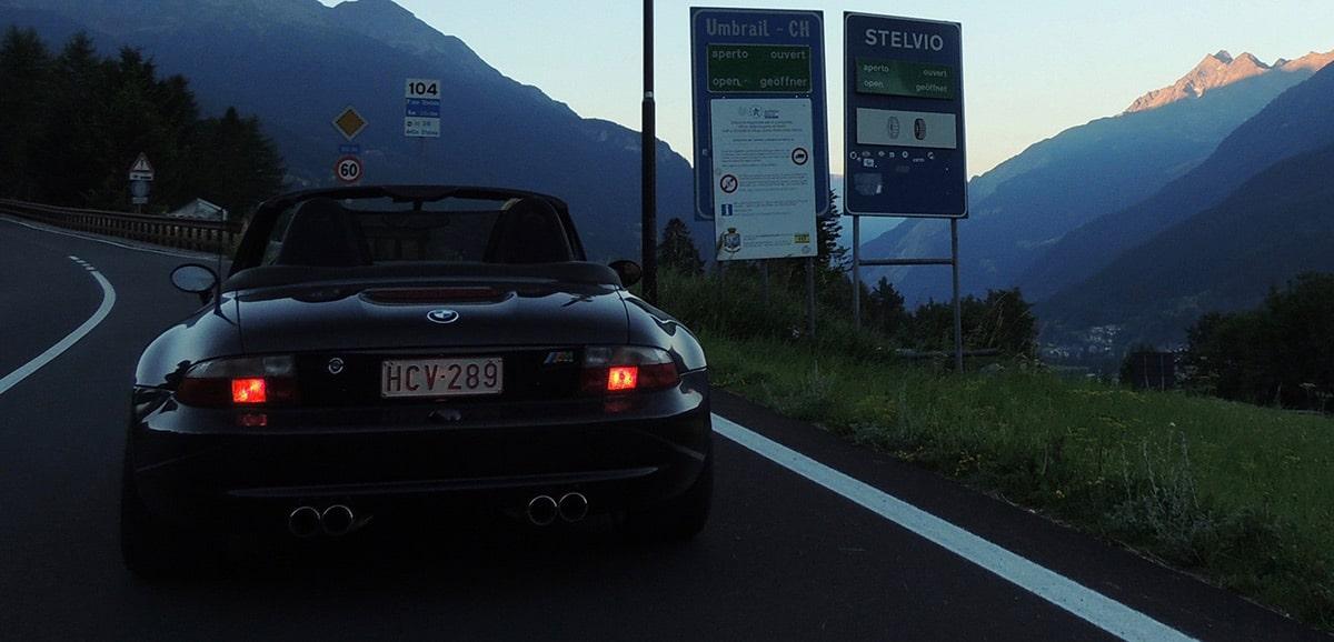 BMW M Roadster Z3M - Stelvio Pass
