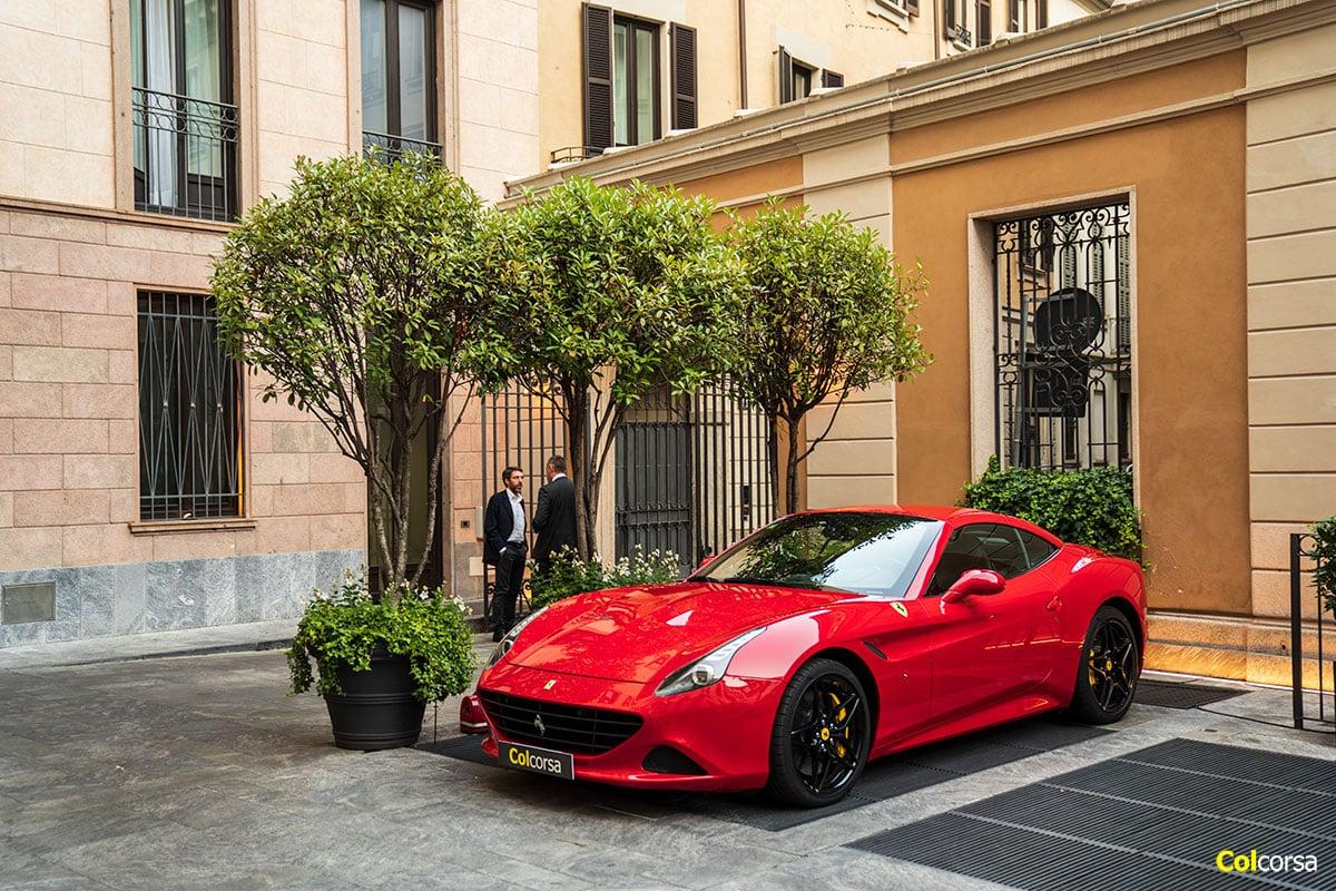 Ferrari California T - Mandarin Oriental Milan - Italian Lakes & the Alps Tour