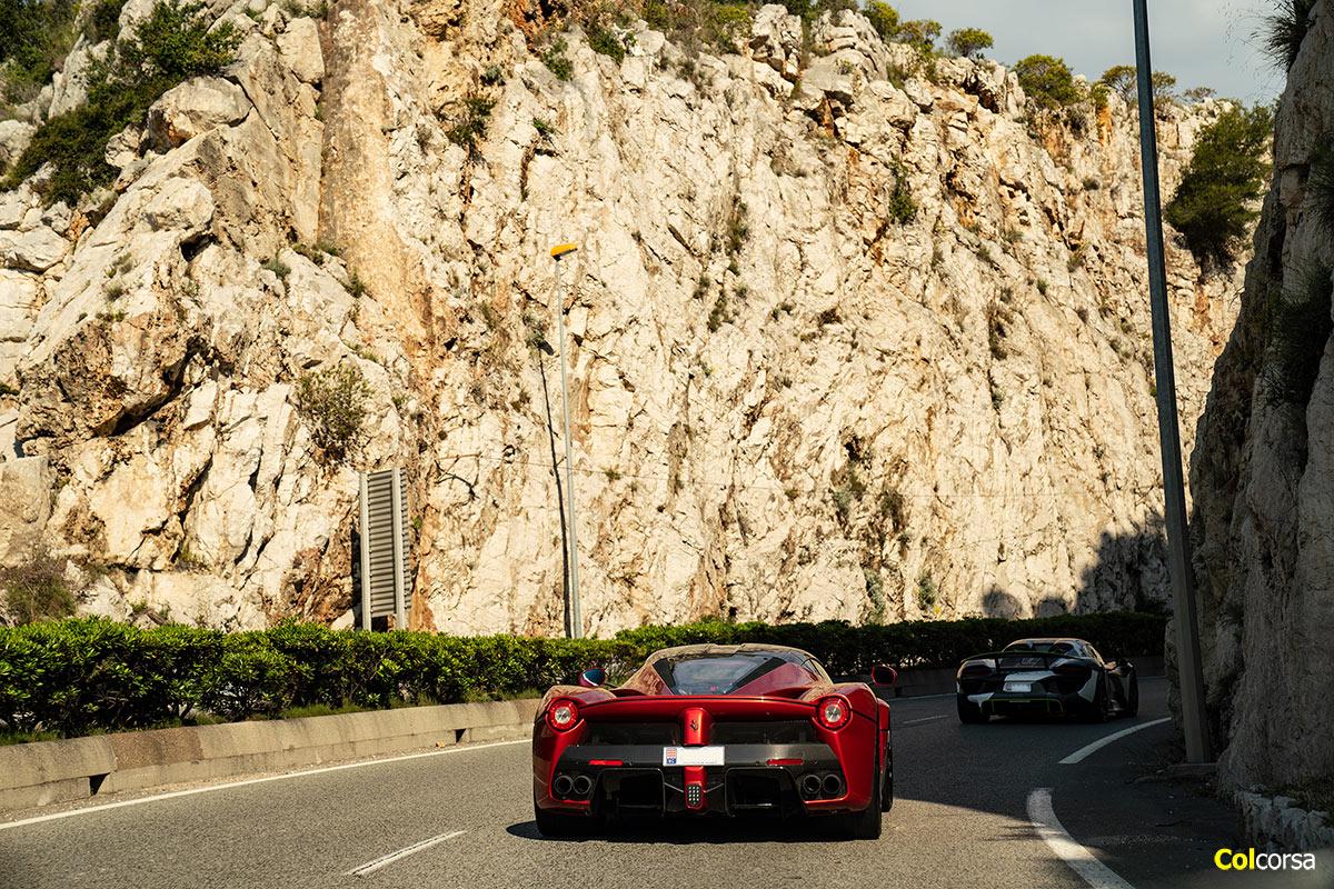 Ferrari LaFerrari - Porsche 918 Spyder - Colcorsa Supercar Tour Monaco