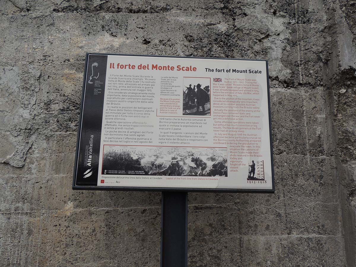 Forte del Monte Scale