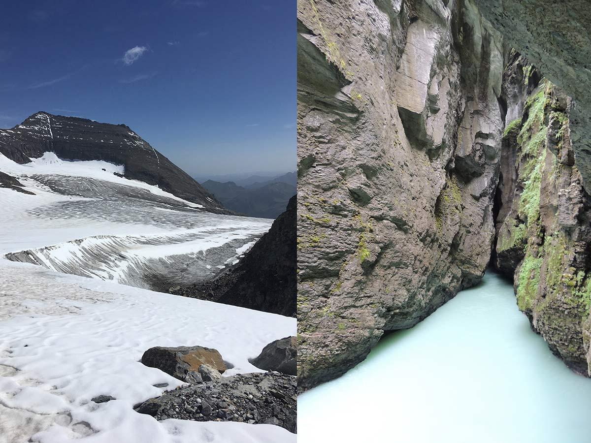 Grossglockner Austria & Aareschlucht Switzerland
