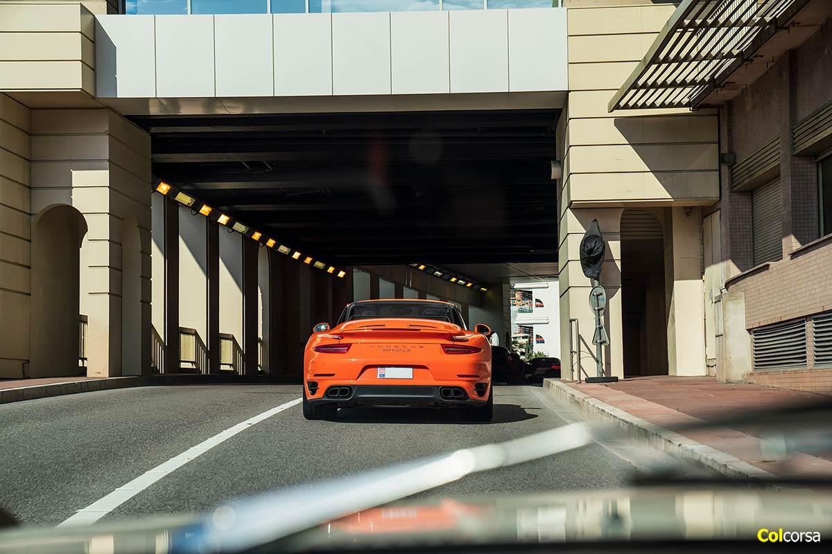 Porsche 911 991 Turbo S Cabriolet - Colcorsa Supercar Tour Monaco