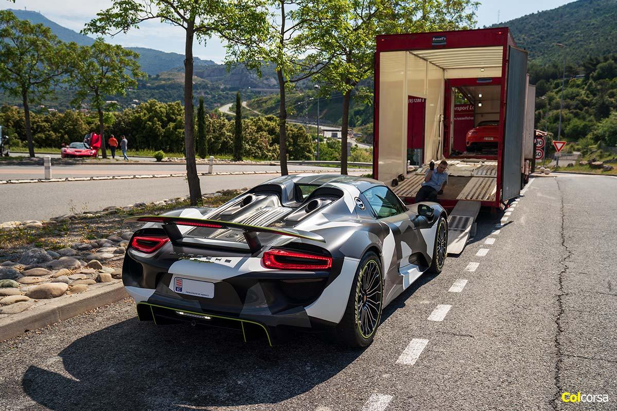 Porsche 918 Spyder - Colcorsa Supercar Tour Monaco