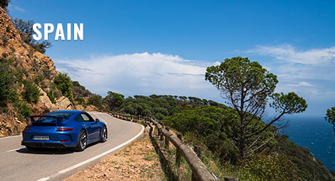 Spain corporate incentive supercar tour