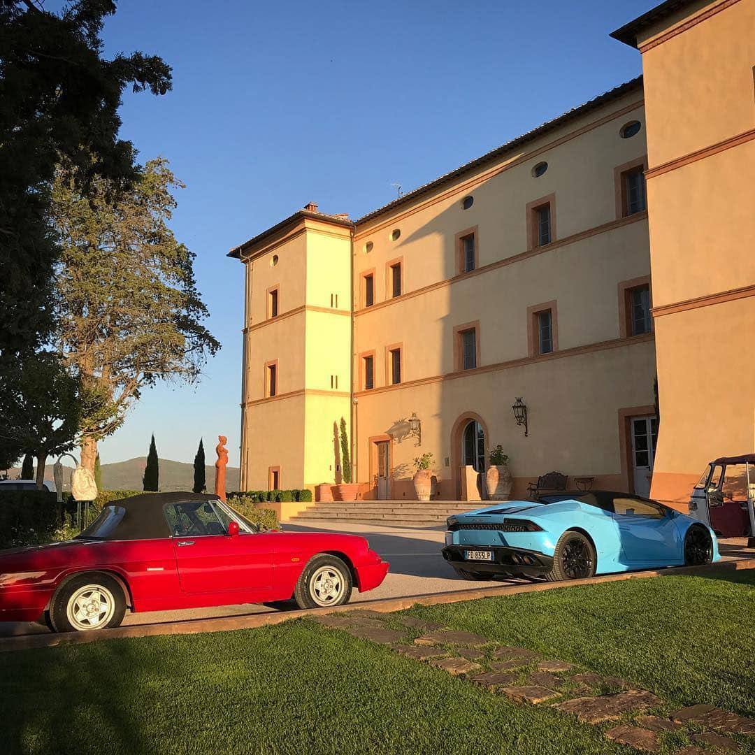 Tuscany Supercar Tour - Castello di Casole