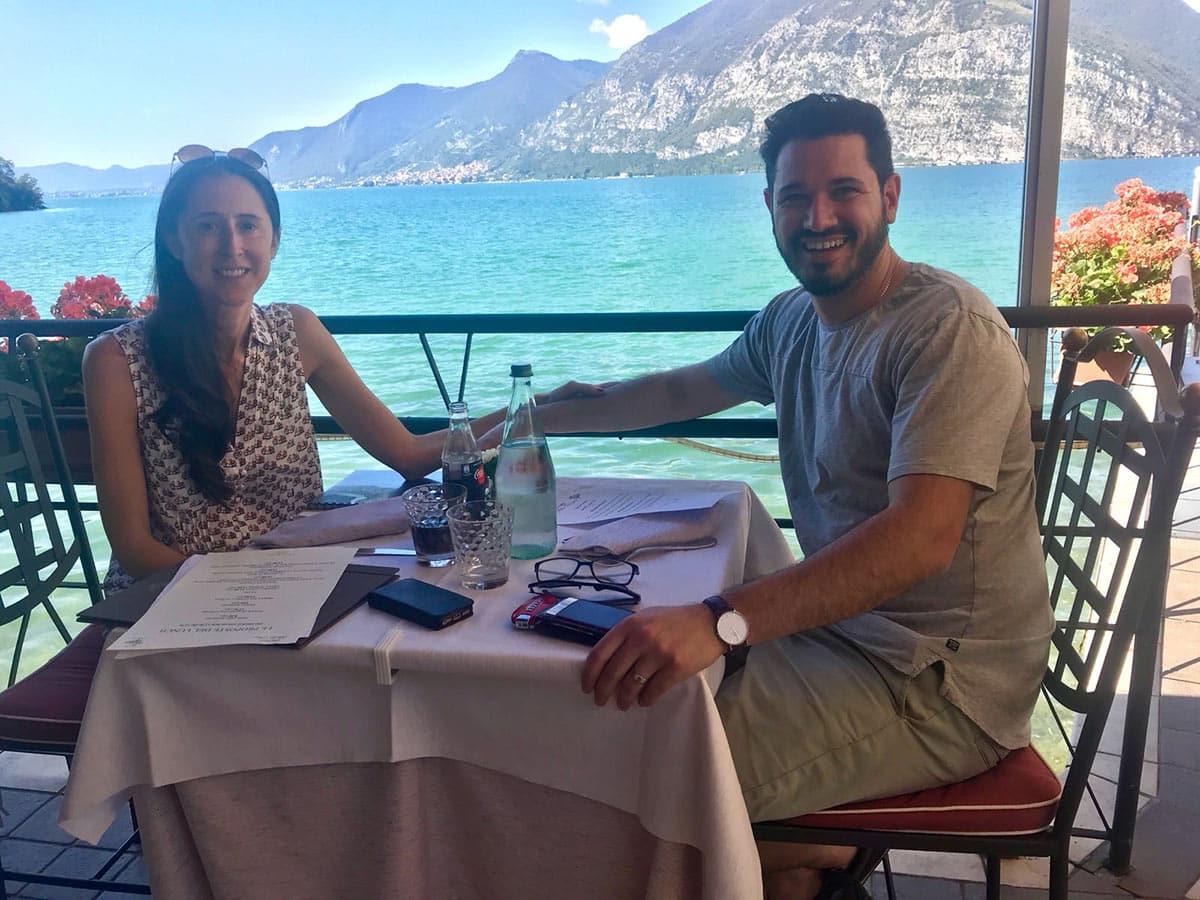 Ferrari Honeymoon Italy - Ferrari 488 Spider - Emily & Adam
