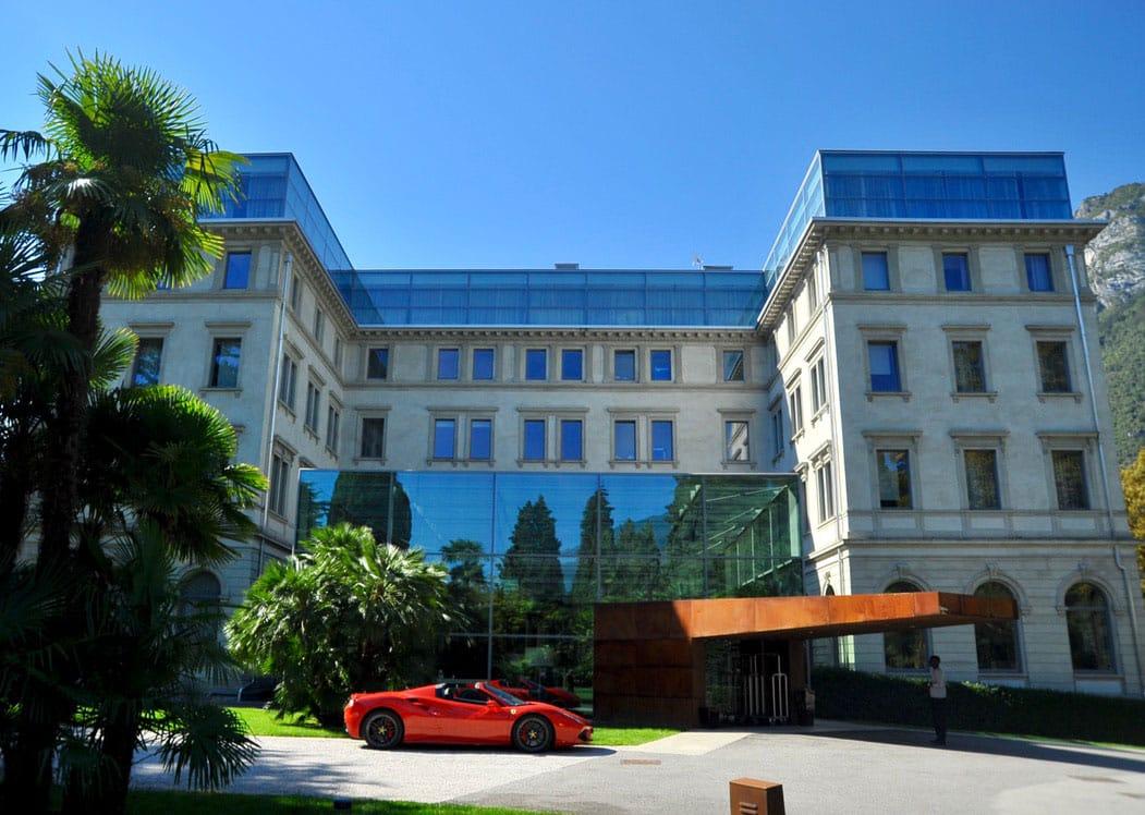 Ferrari Honeymoon Italy - Ferrari 488 Spider - Lido Palace Lake Garda