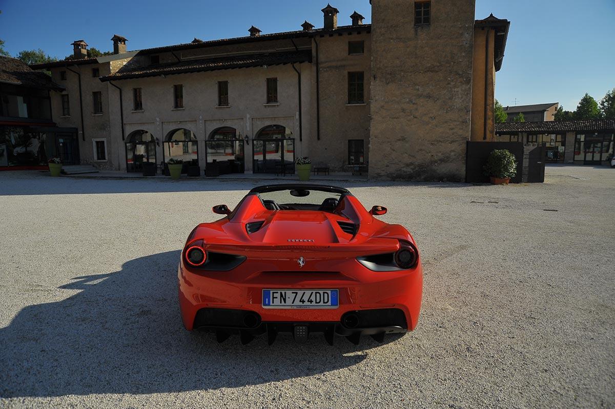 Ferrari Honeymoon Italy - Mille Miglia Museum Brescia - Ferrari 488 Spider