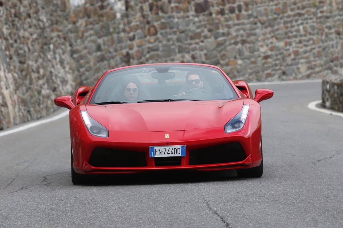 Ferrari Honeymoon Italy - Ferrari 488 Spider - Passo Stelvio