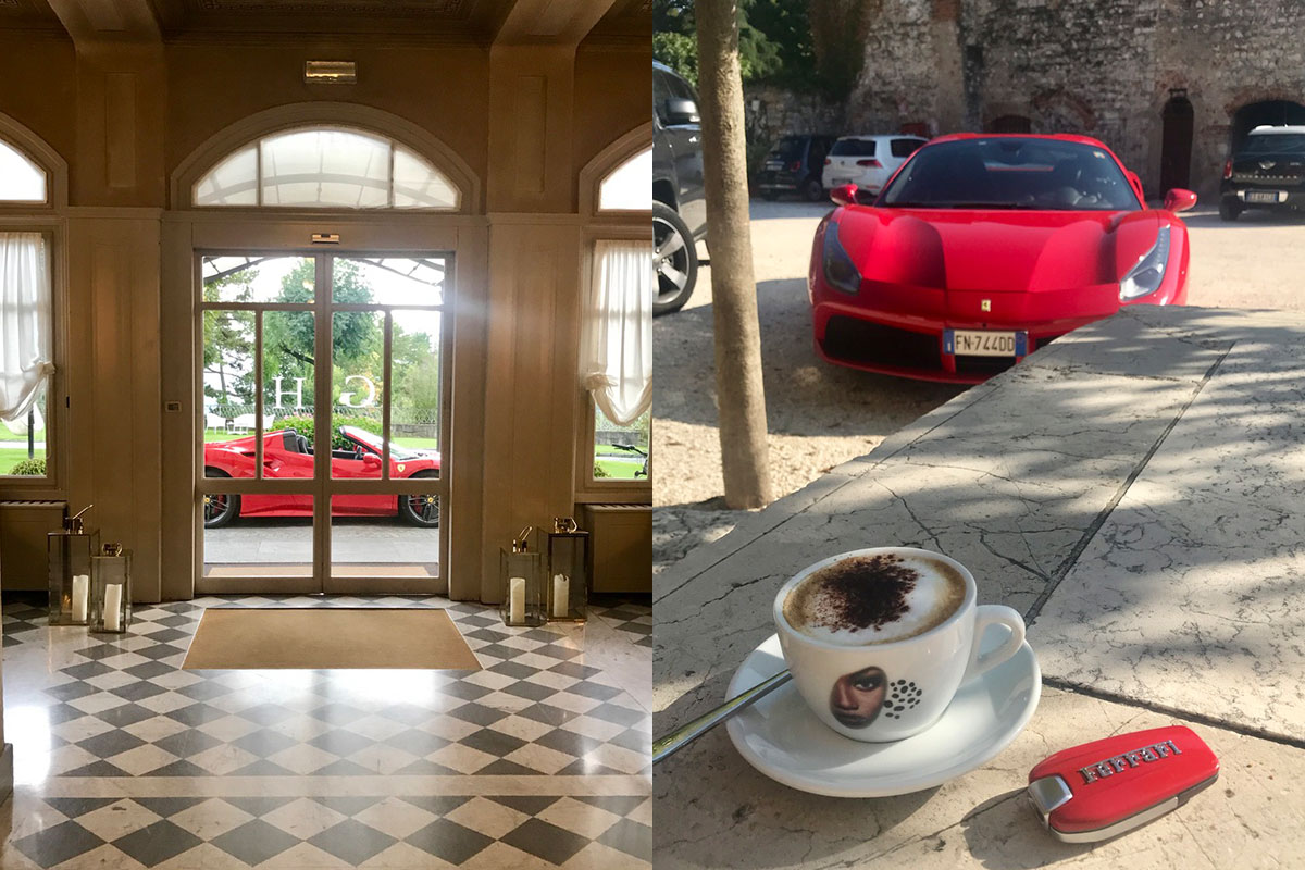 Ferrari Honeymoon Italy - Ferrari 488 Spider - Supercar Honeymoon