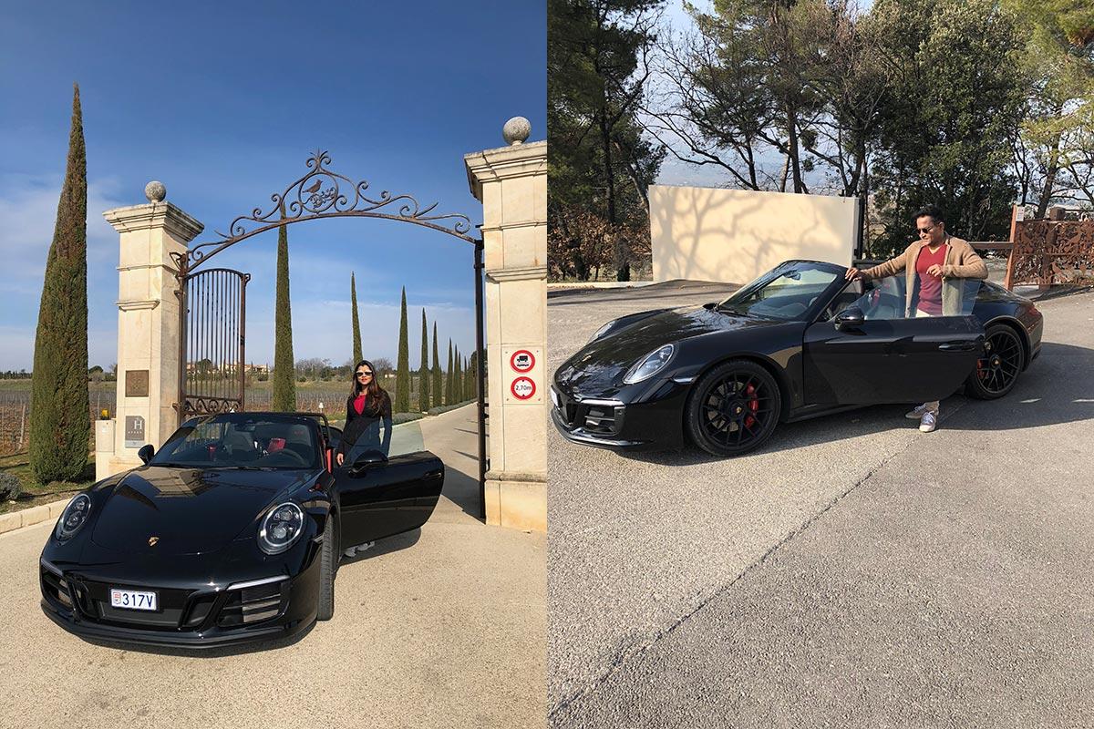 Porsche Tour Monaco & Provence - Sudhir & Radhika