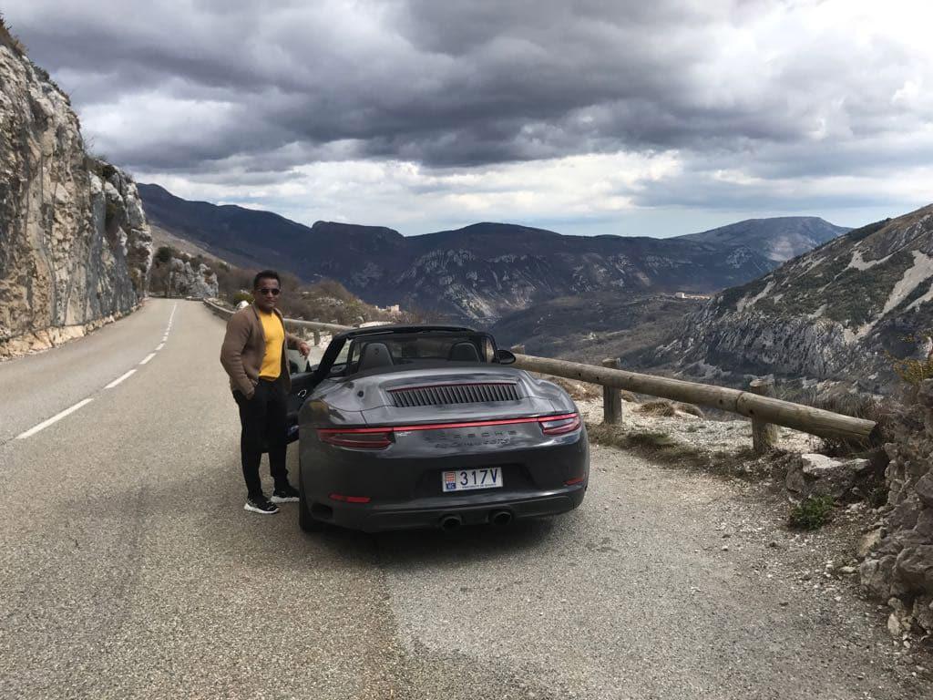 Porsche Tour South of France - Porsche 911 - Sudhir